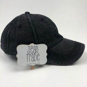 NWT Curved Denim Baseball Hat